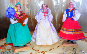 Кашубка - слева, Живчанка - в центре, Горличанка - справа.