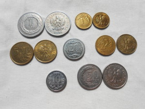польские монеты