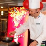 Кулинарные изыски  шефа кухни парома «Скандинавия»