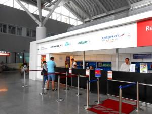 Стойка представителей авиакомпаний, аэропорт Варшавы