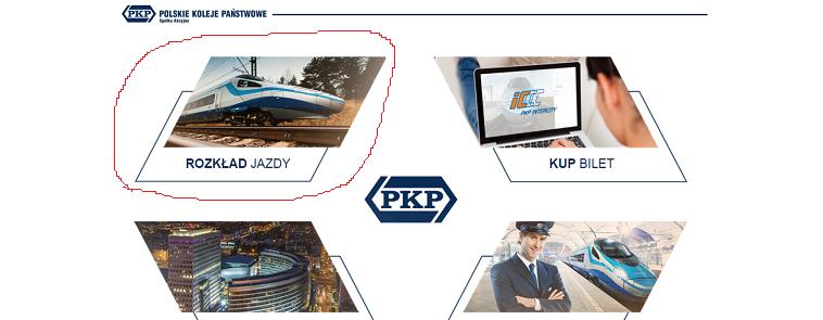 главная страница сайта pkp.pl