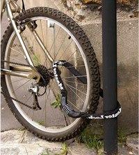 Надежный замок для велосипеда