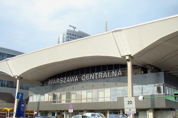 Варшава центральна  главный вокзал  польской столицы