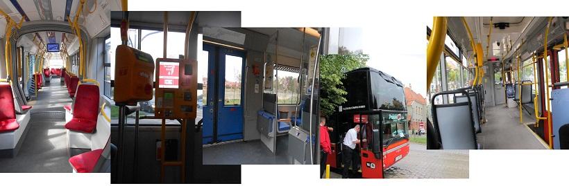 в польском общественном транспорте