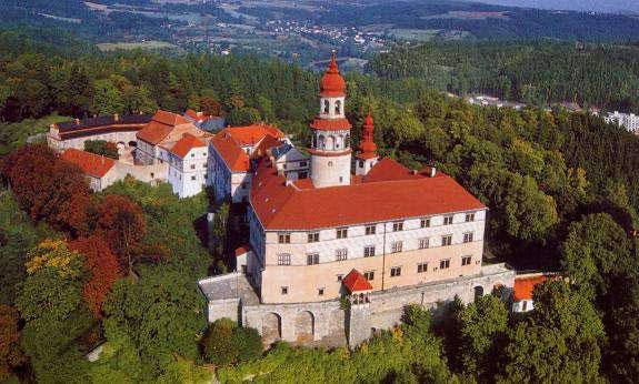 Nachd, Чехия замок