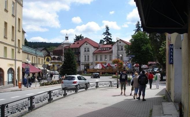 пограничный гороок Кудова Здруй, Польша