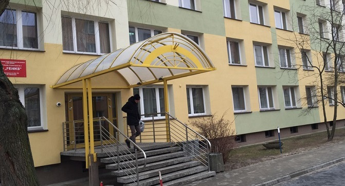 Студенческое общежитие в Варшаве