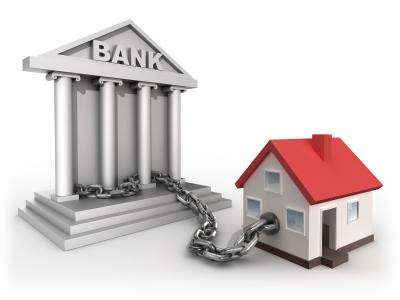 дом в кредите у банка