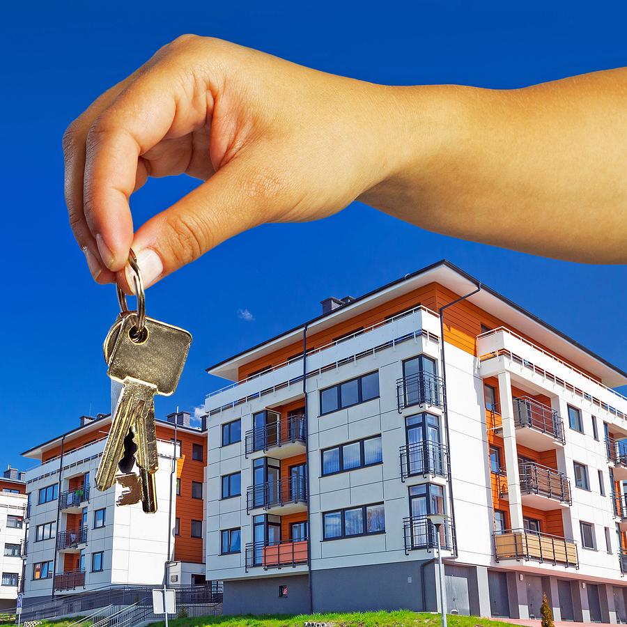 новый дом и ключи