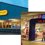 Названия, обозначения, реклама в польских магазинах