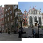 Надписи  вывески  указатели в польском городе