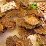 морепродукты на рынке Риалто в Венеции