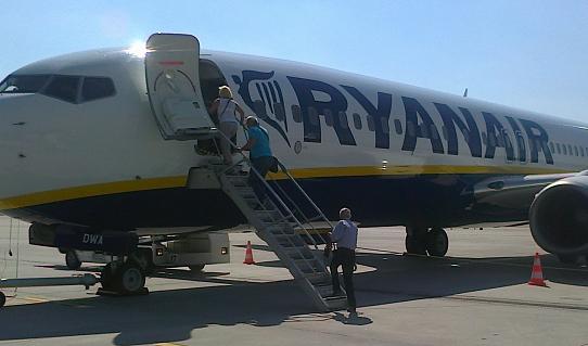 самолет компании Ryanair